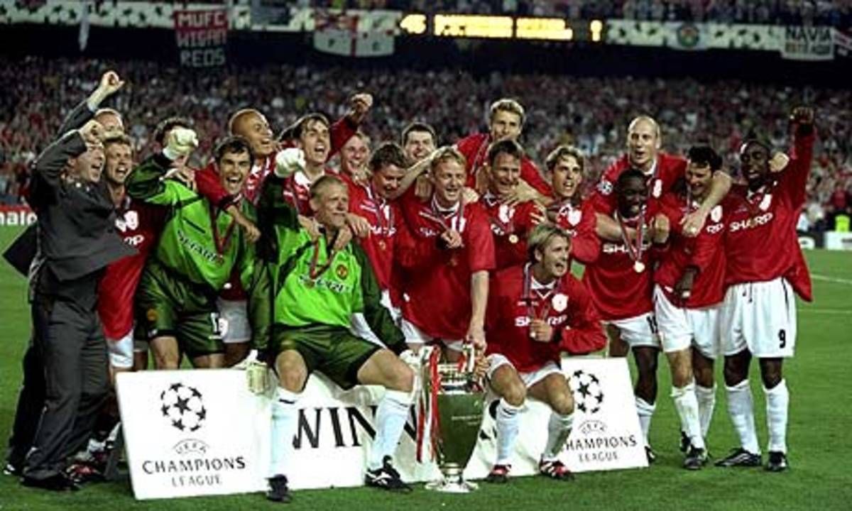 Manchester United - 1998/99 UEFA Champions League Winners