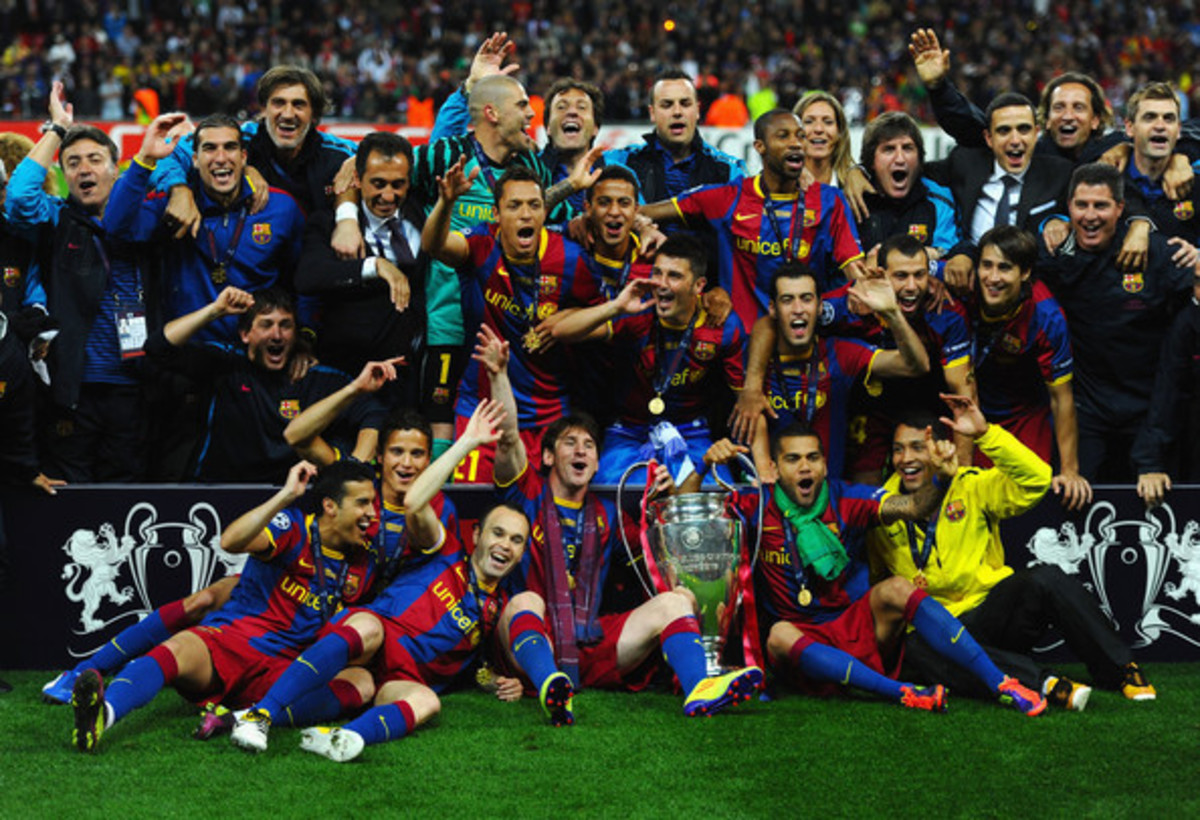 Barcelona - 2010/11 UEFA Champions League Winners