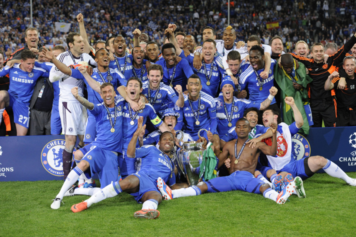 Chelsea - 2011/12 UEFA Champions League Winners