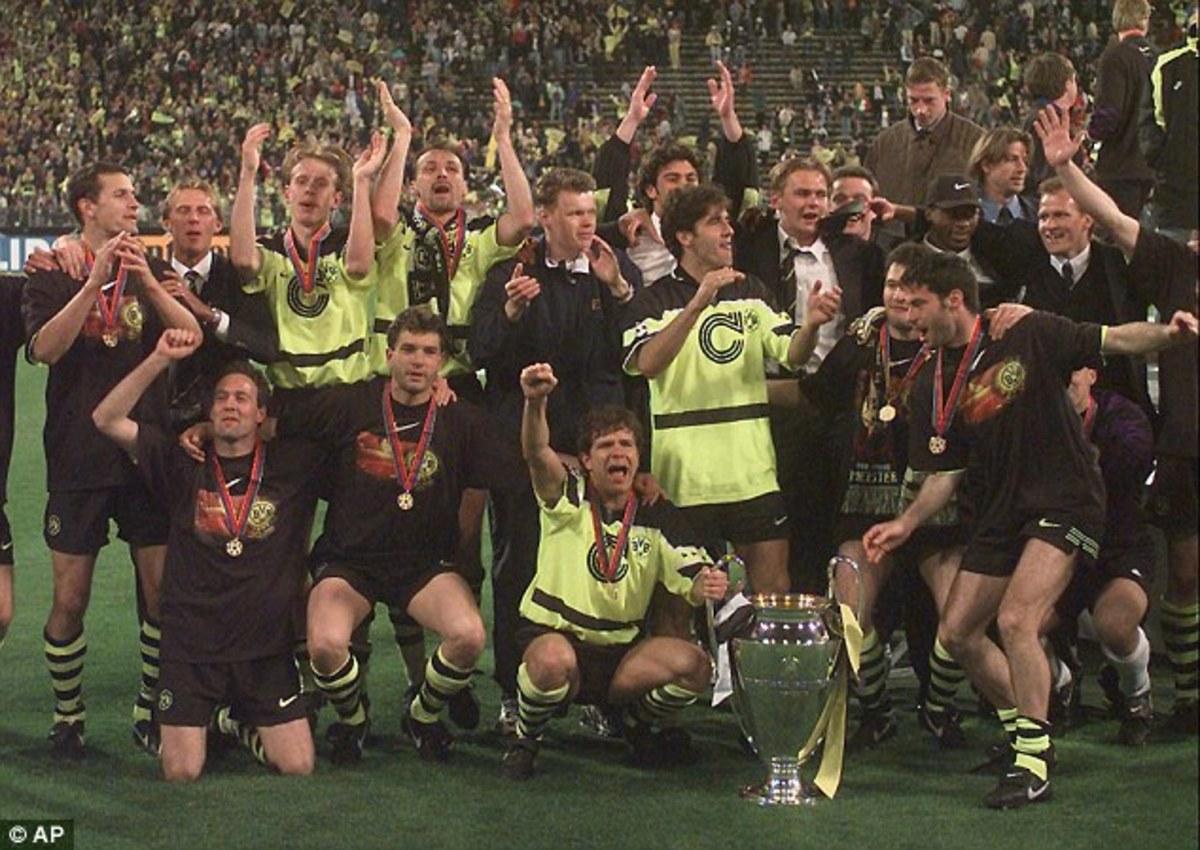 Borussia Dortmund - 1996/97 UEFA Champions League Winners