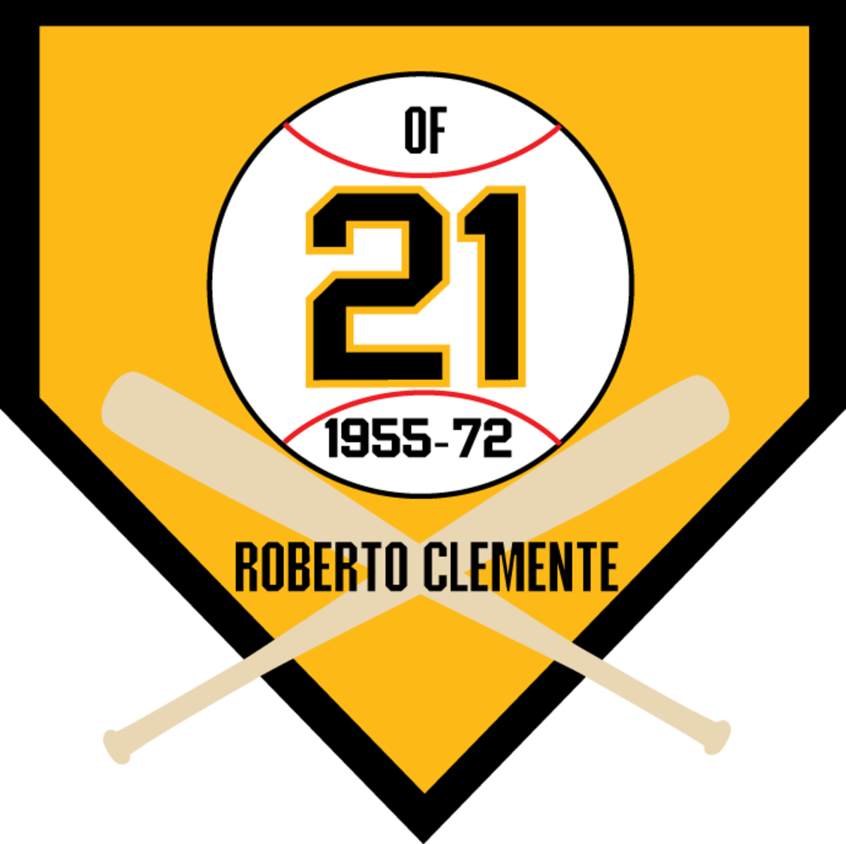 The number of Clemente's jersey.
