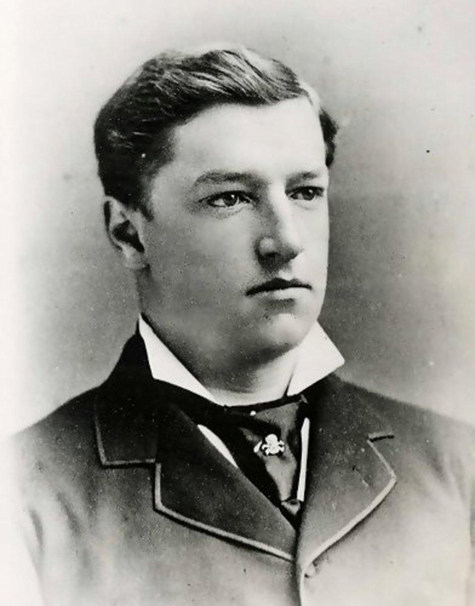 A young Howard Taft at Yale.