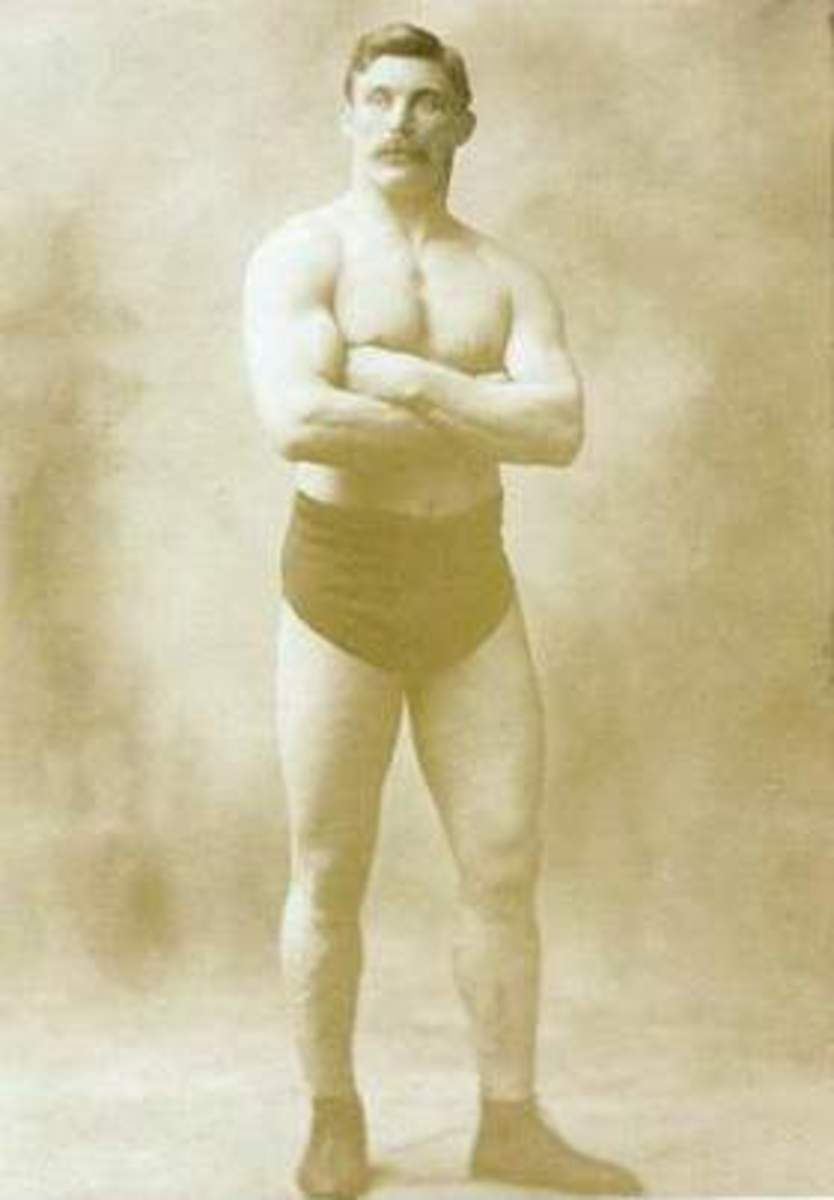 Eisenhower's catch wrestling instructor, Tom Jenkins.