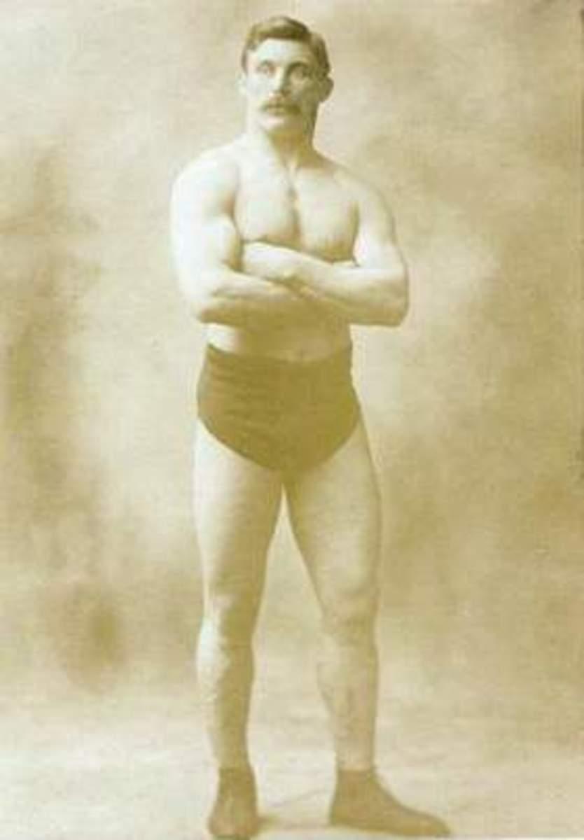 Eisenhower's catch wrestling instructor, Tom Jenkins.