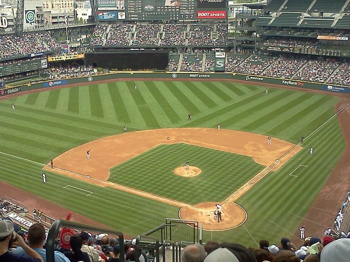 Beautiful Safeco Field, one of the finest parks in the nation. Everyone needs to go at least once.