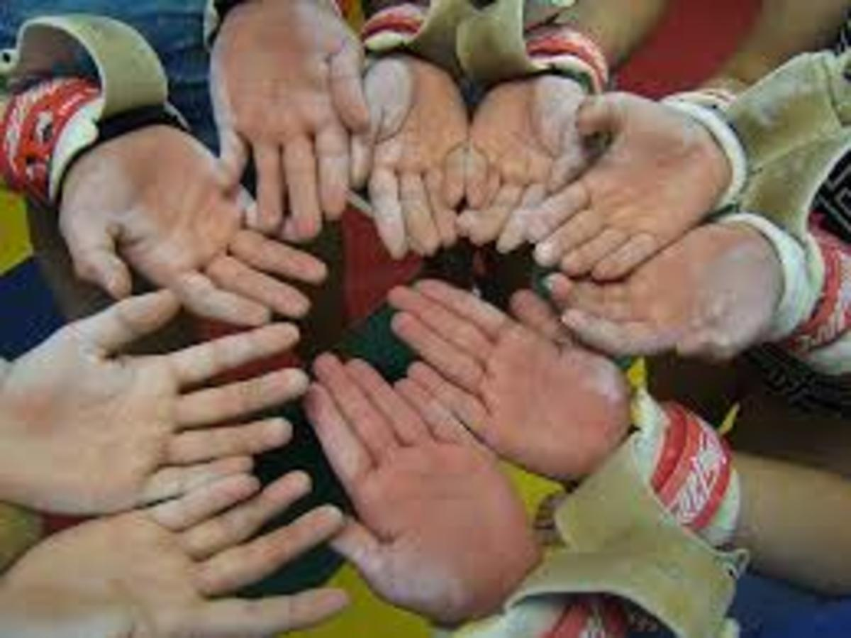 Tiny Lumberjack Hands!