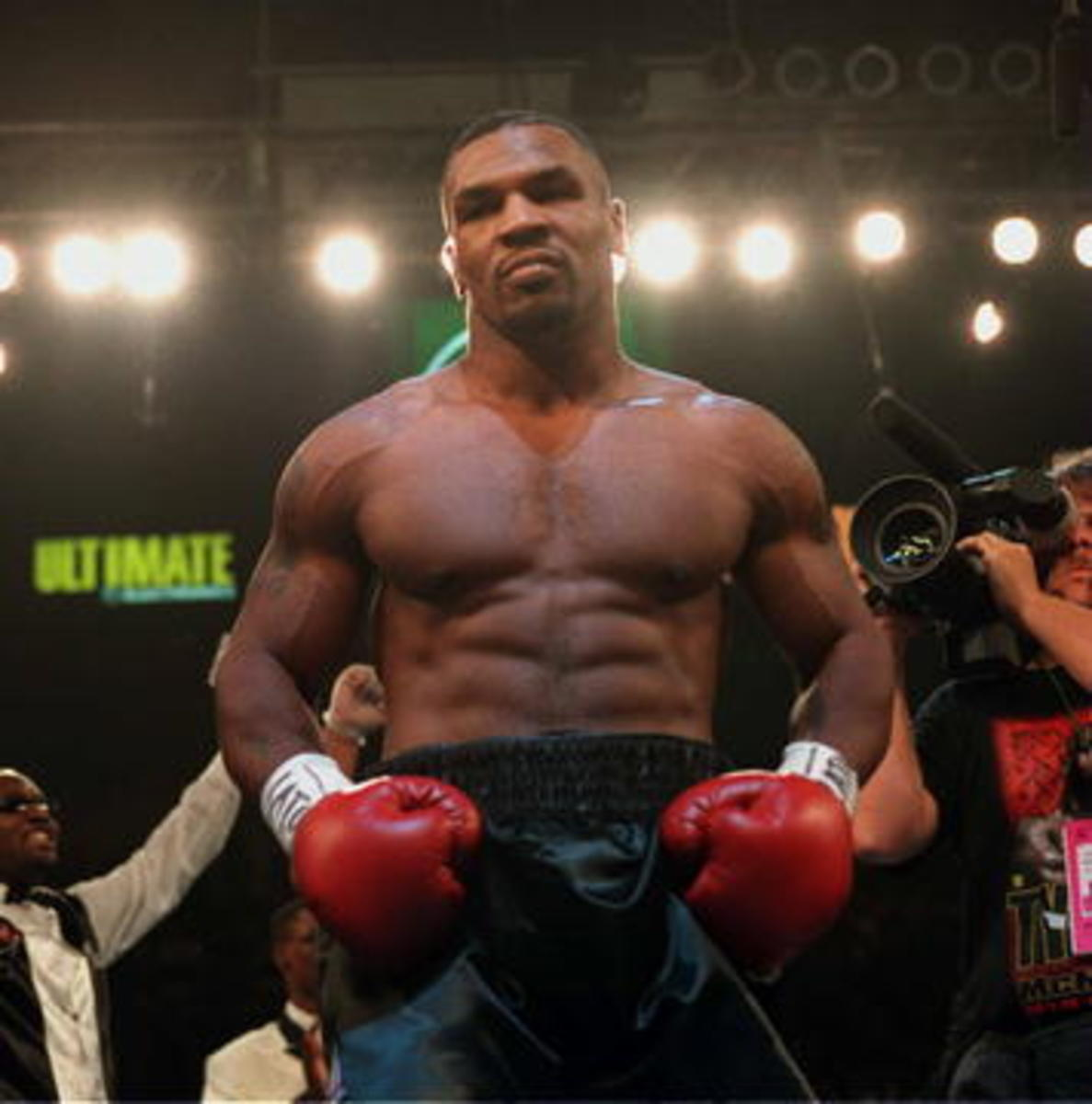 Mike Tyson was known for his use of the Dempsey Roll.