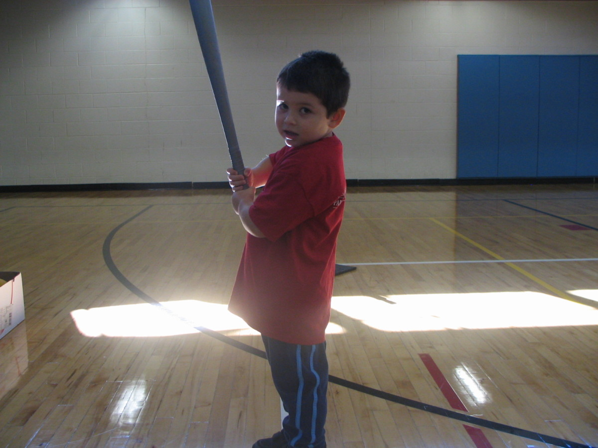 Boy holding a baseball bat