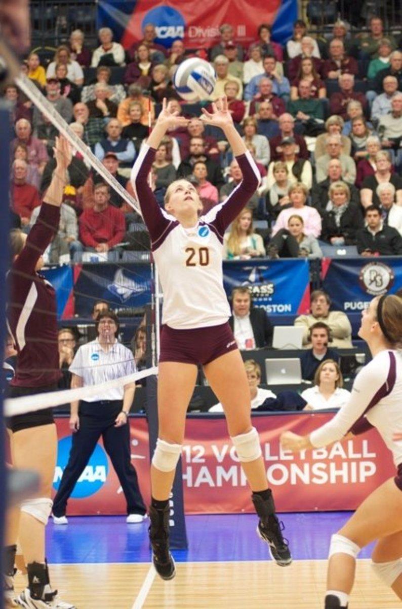 Calvin College's Megan Rietema.