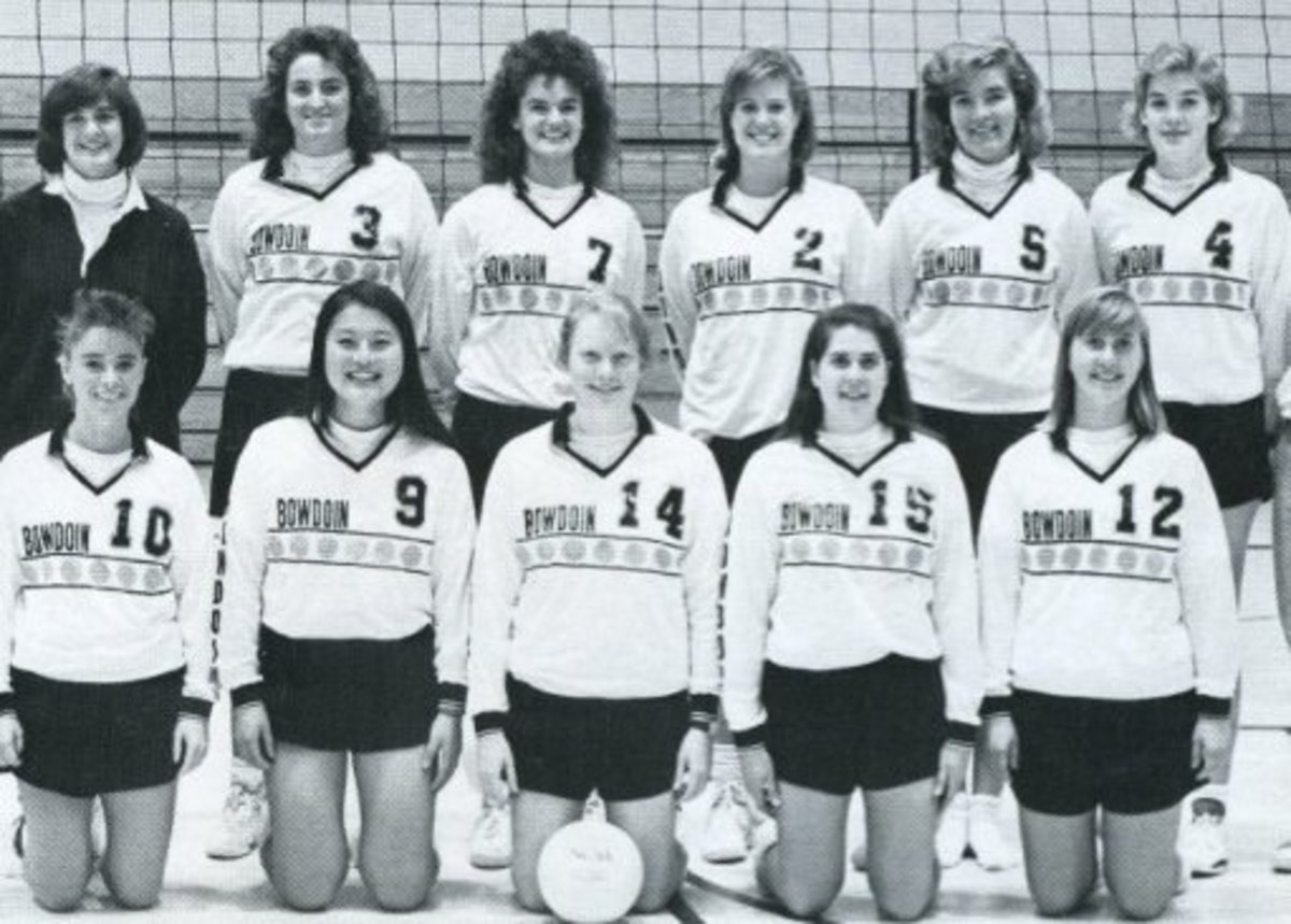 After the bun huggers went out of style, there was a period where teams found the middle ground for their volleyball shorts.