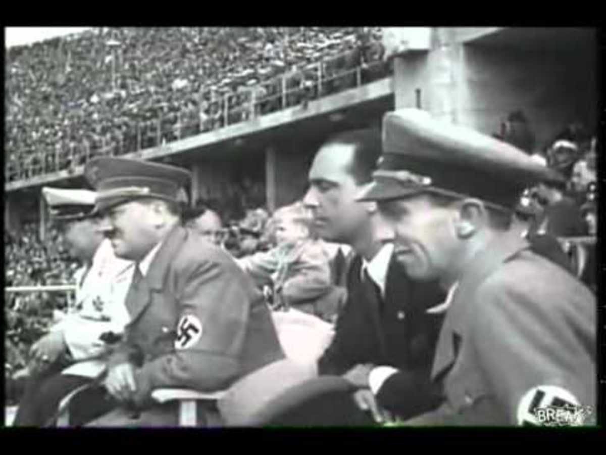 Hitler at the 1936 Olympic Games