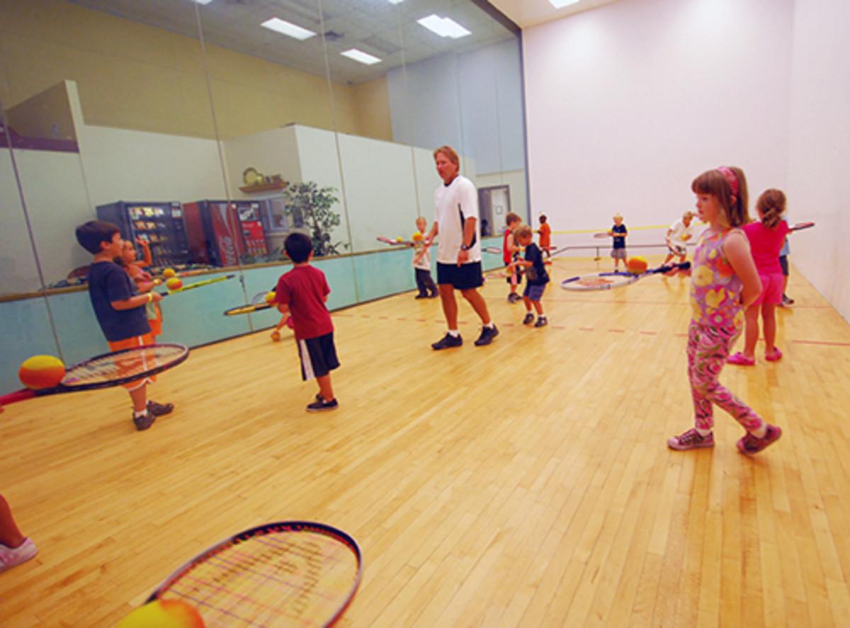 Kids Racquetball