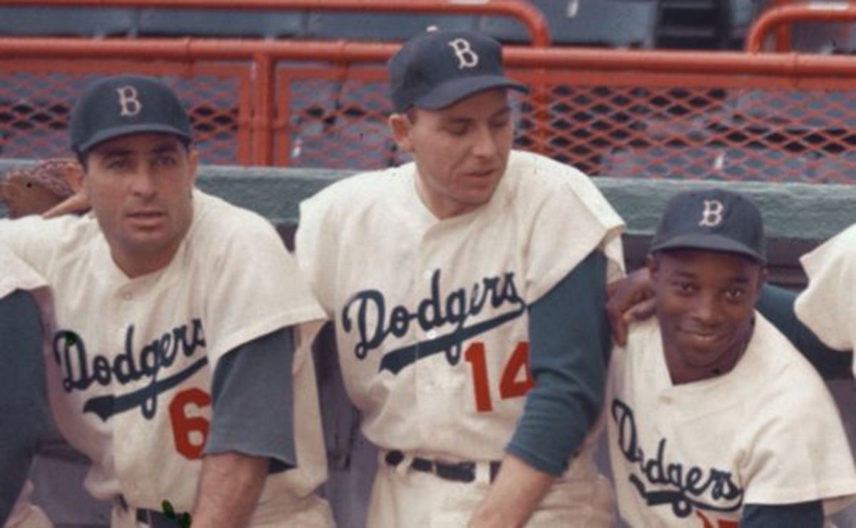 Furillo, Gil Hodges and Sandy Amoros