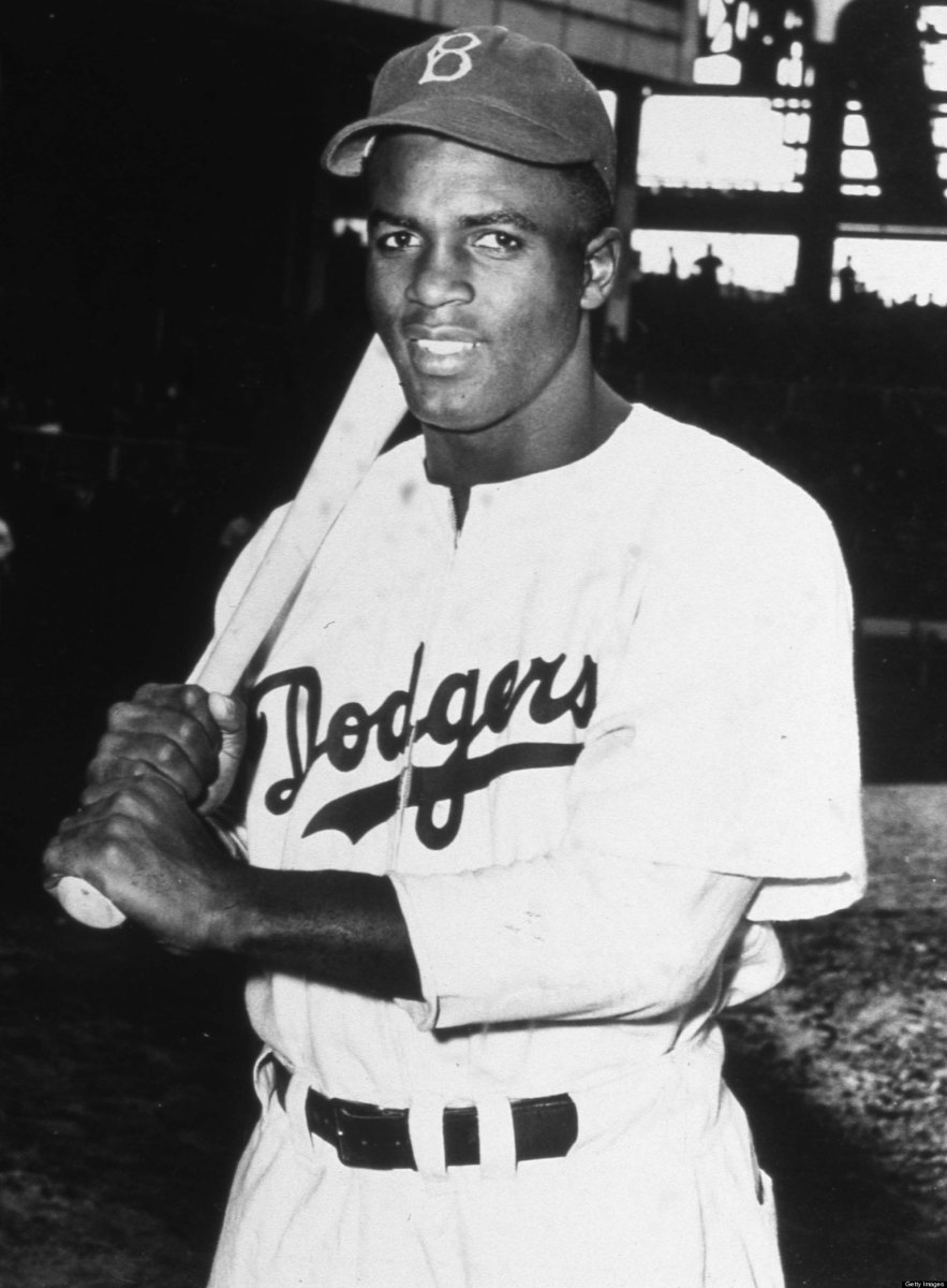 Time were changing: Jackie Robinson.