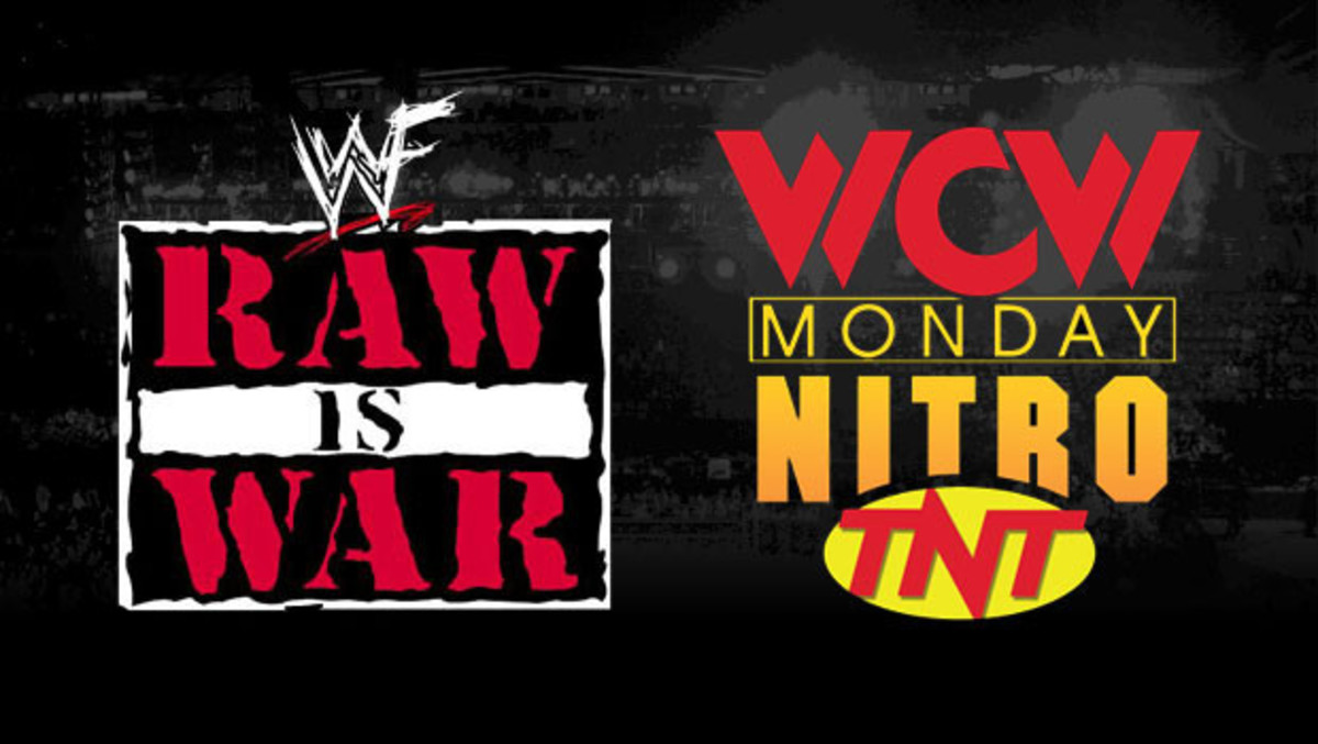 WWF Monday Night Raw and WCW Nitro were engaged in a war.