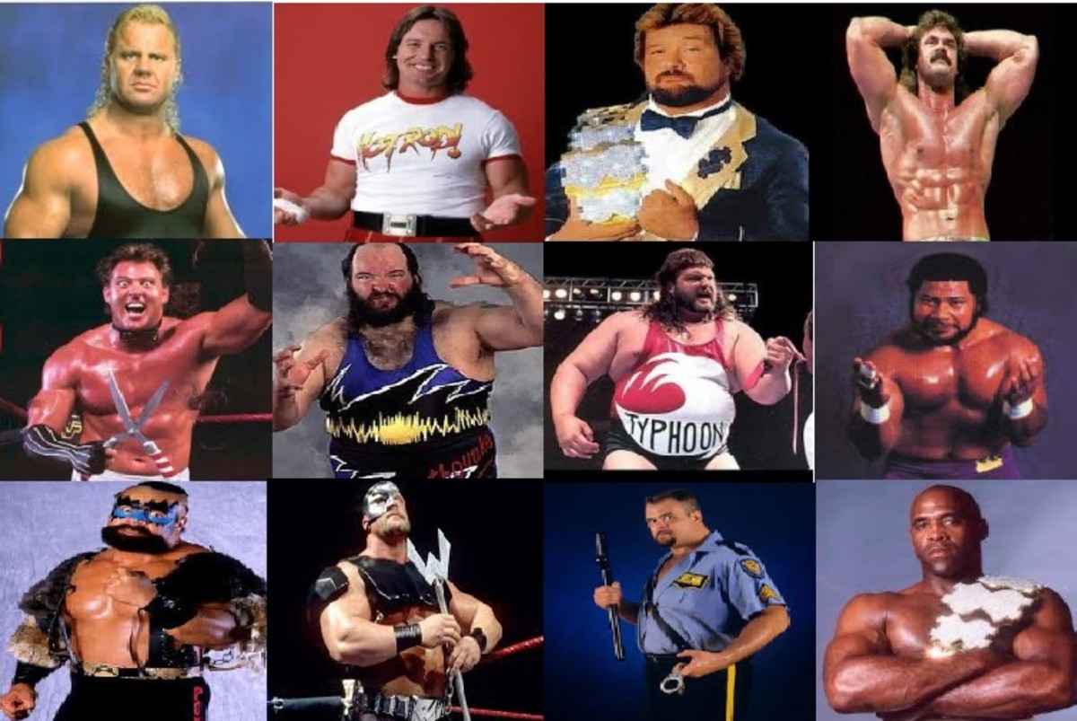 WCW signed any 1980's Golden Era wrestler they could get their hands on.