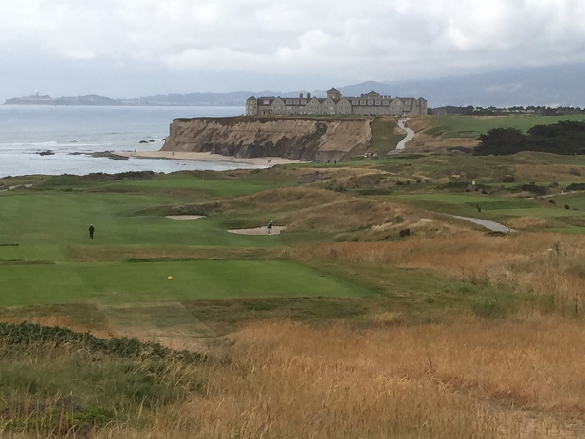 A View From the Ritz-Carlton Half Moon Bay Course