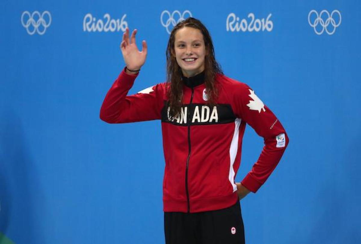 Penny Oleksiak: just a kid, but a nature sportsperson