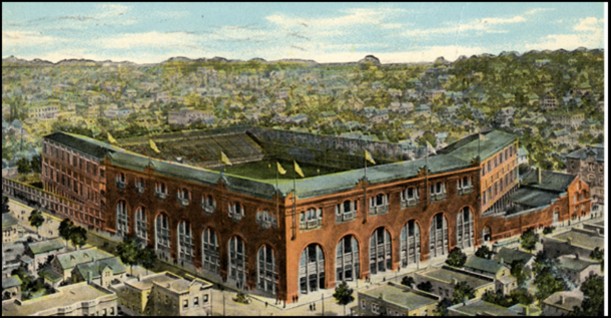 League Park in Cleveland
