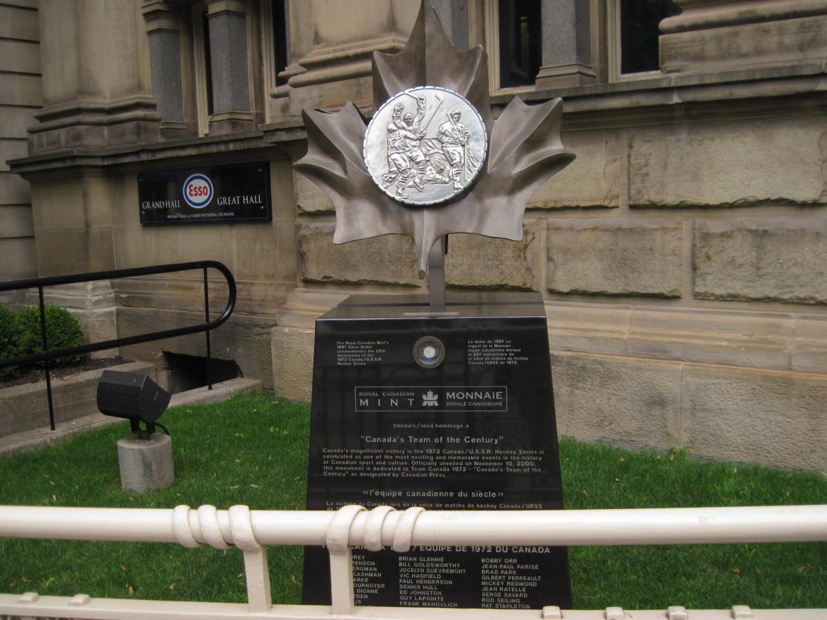 Team Canada '72 Sculpture