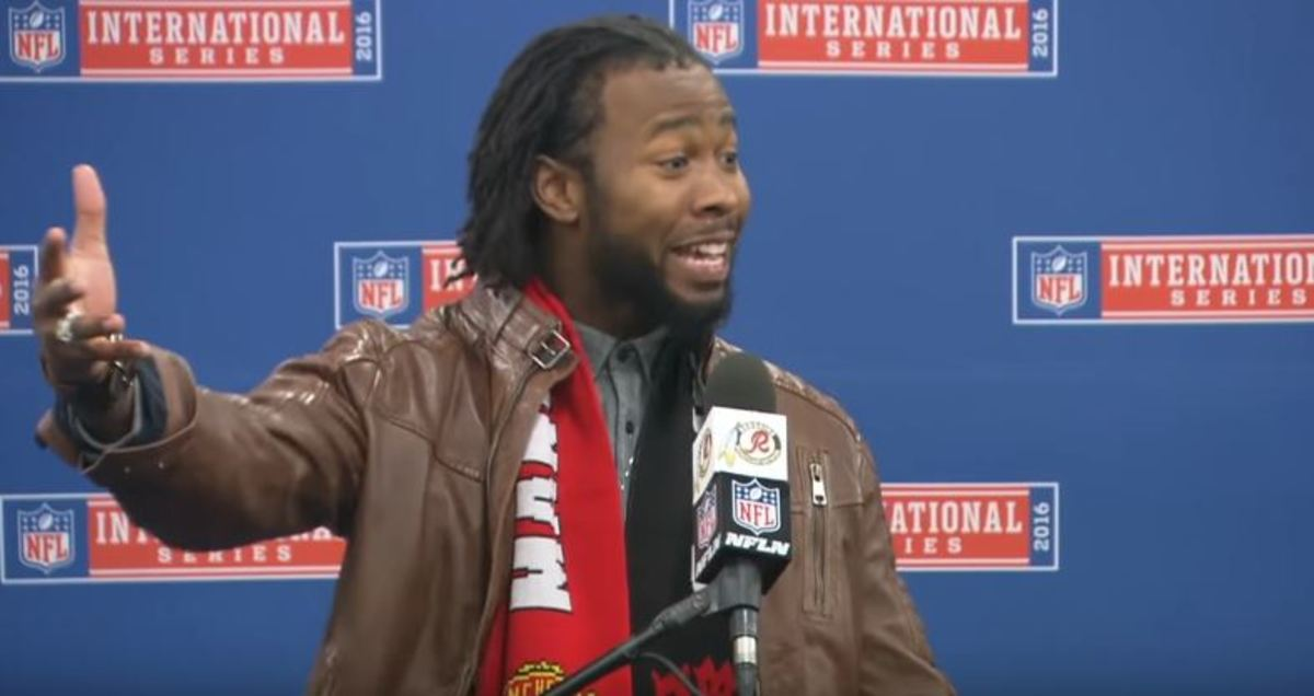 Josh Norman at his post game press conference