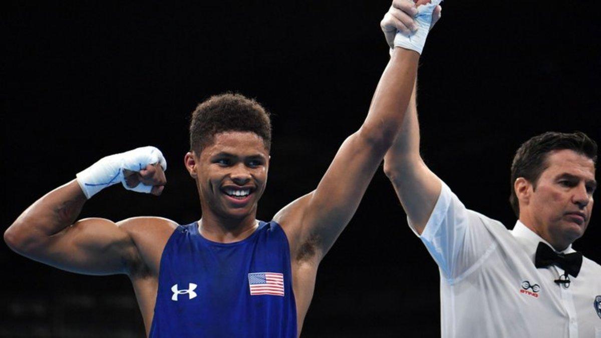 Shakur Stevenson, boxing