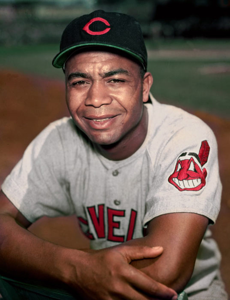 Larry Doby, the second African American to play in the Major Leagues.