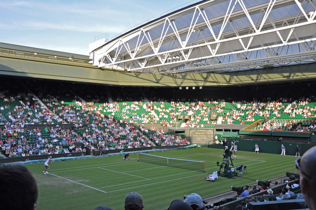 Wimbledon is one of four Grand Slam tournaments that are the highest scoring in terms of ranking points.
