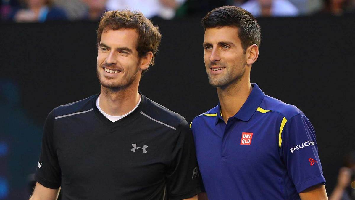 Novak Djokovic and Andy Murray have lead the ATP tour with consistent #1 and #2 rankings throughout 2016.