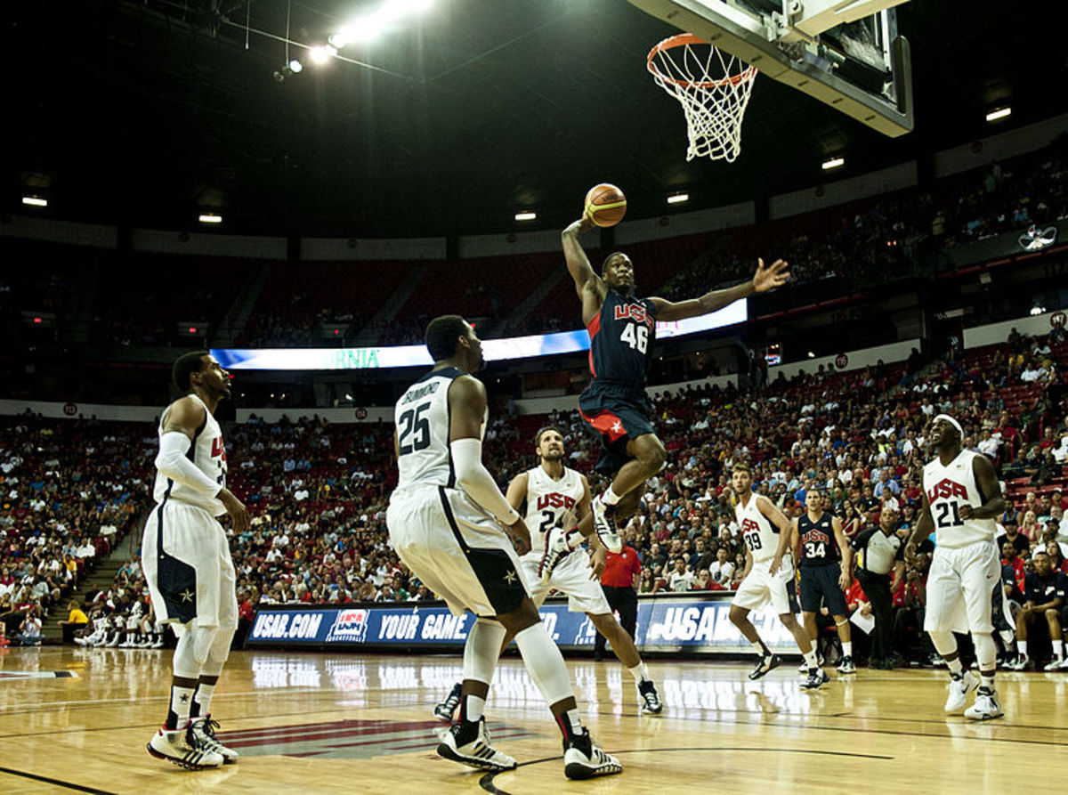 A ferocious dunk can swing the momentum of a game.