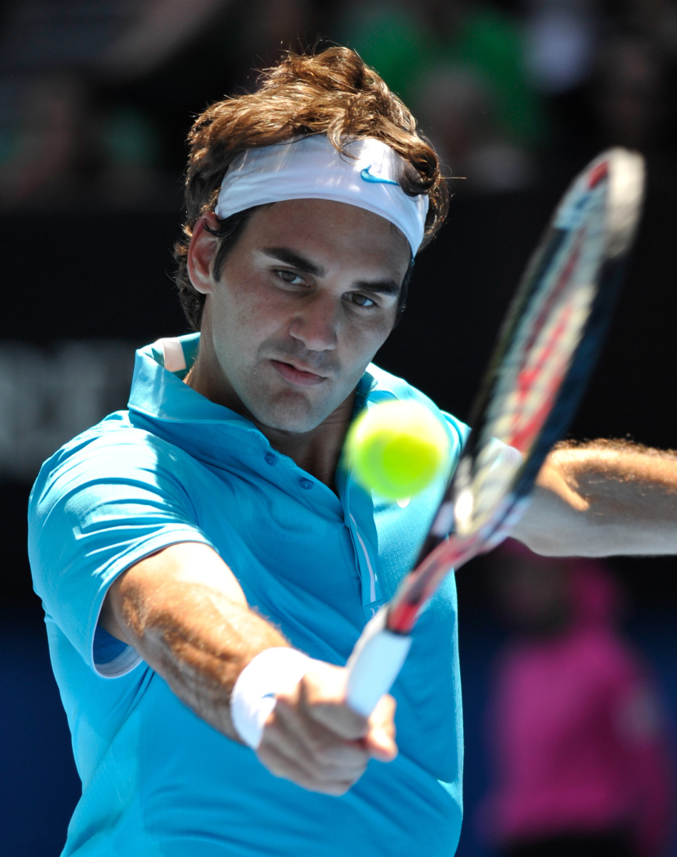 Roger Federer enjoyed one of the most dominant periods in men's singles tennis, and is widely considered one of the greatest players of all time.