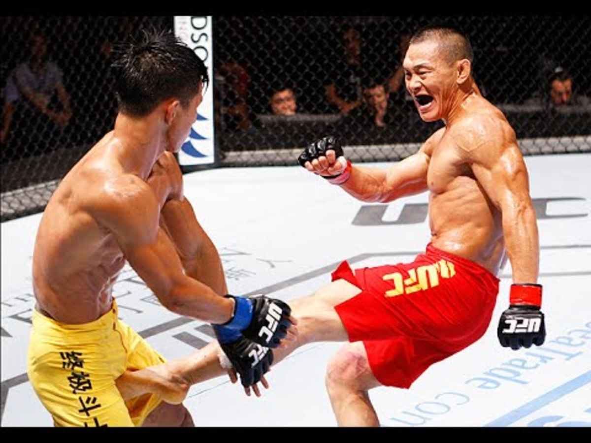Ning Guangyou made his professional mixed martial arts debut in 2007.