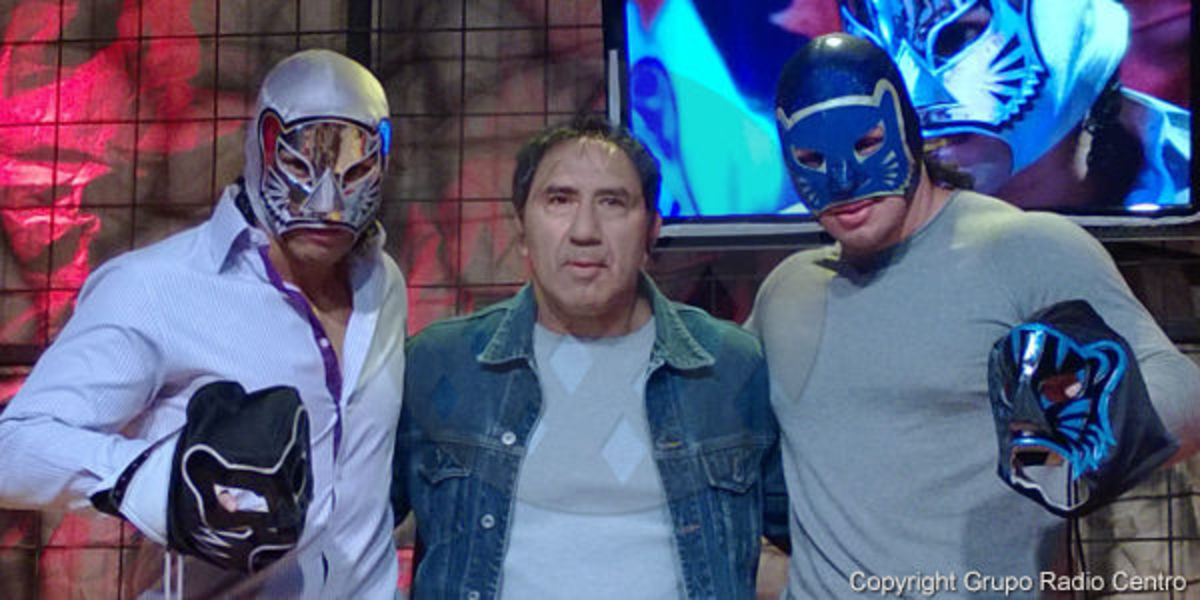 The Panther, Blue Panther and Blue Panther Jr.