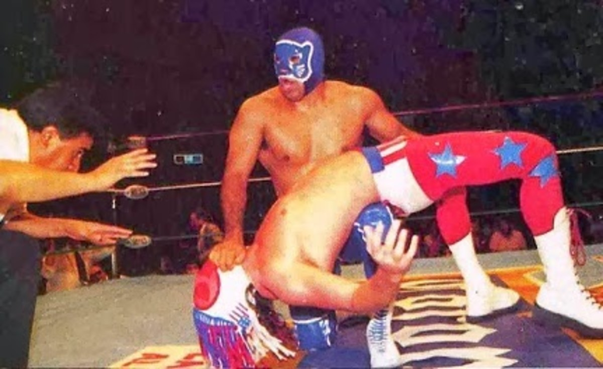 Blue Panther stretching out the American Love Machine
