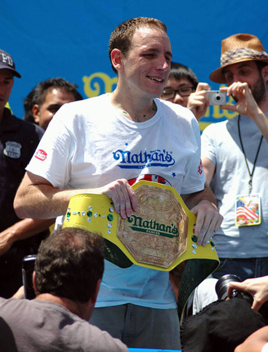 Joey Chestnut.