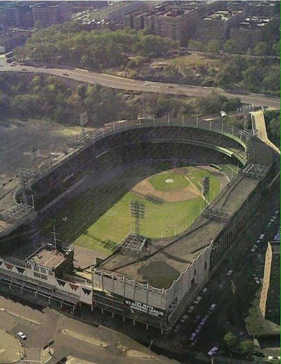 Never before or since, The Polo Grounds had the largest outfield in the major leagues.