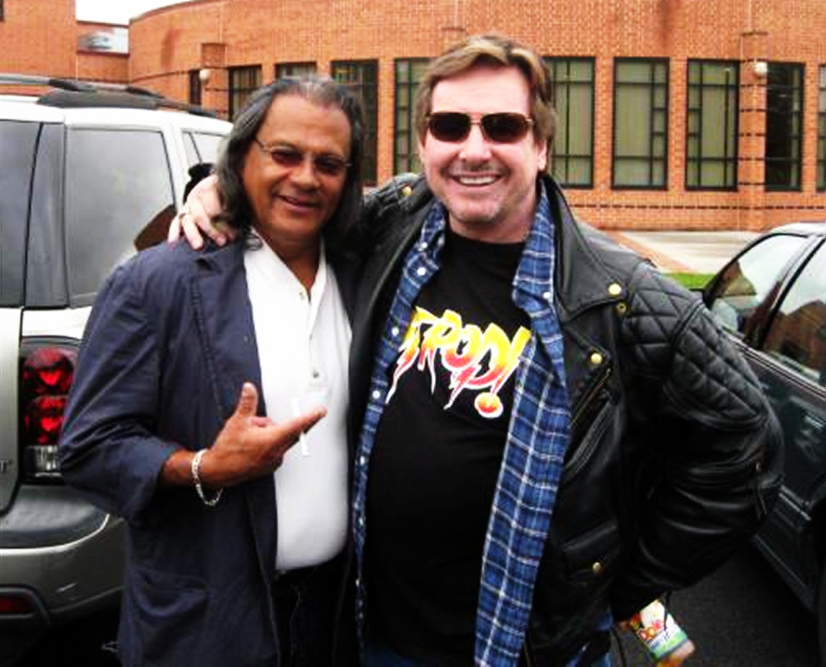 Chavo and Roddy, together years after their heated rivalry