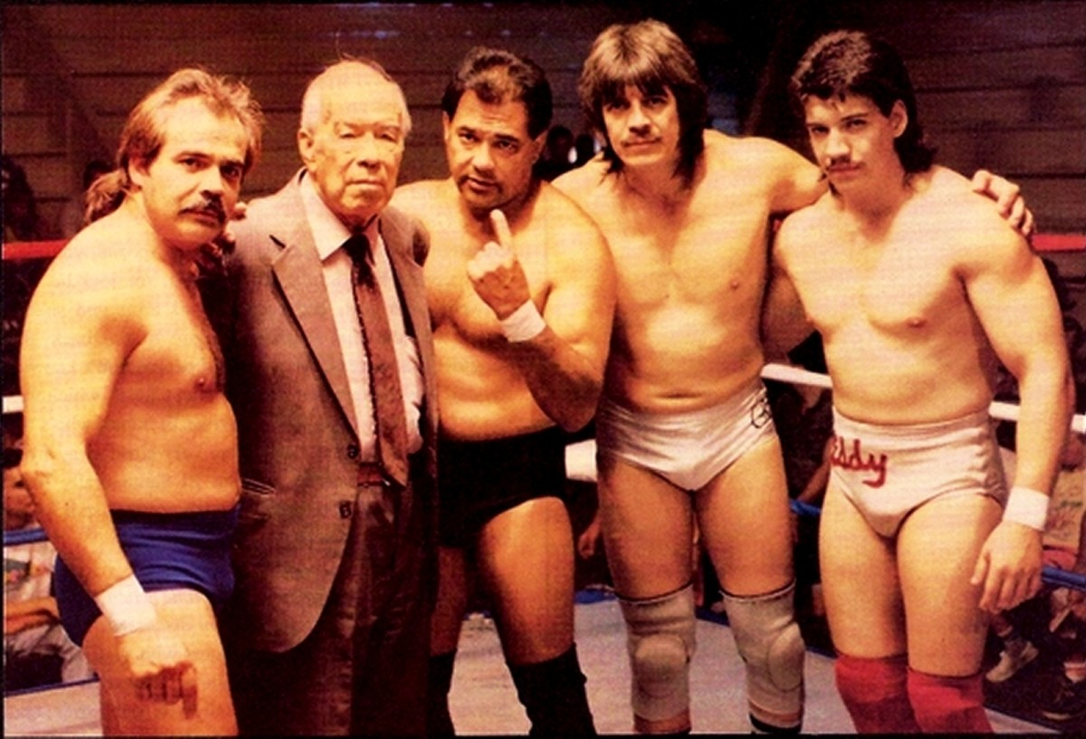 Mando, Gory, Chavo, Hector and Eddie; the Guerrero Family