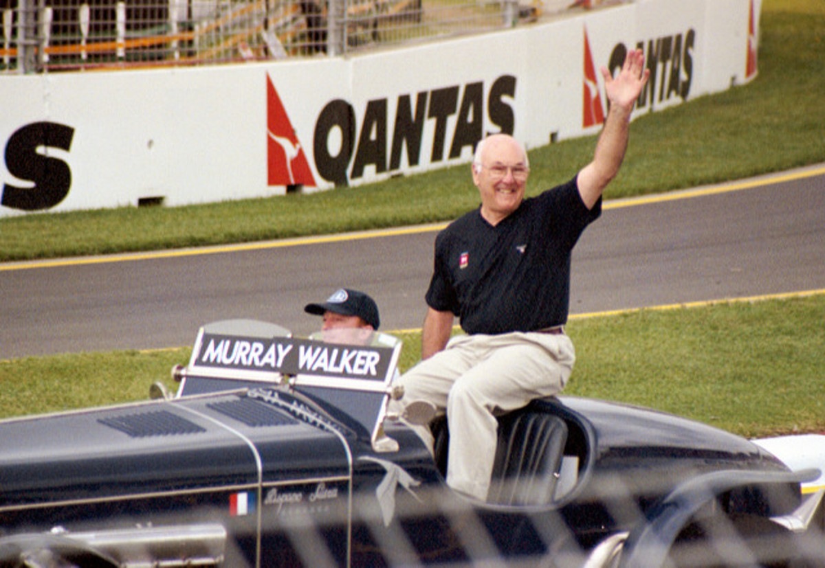 Murray Walker.