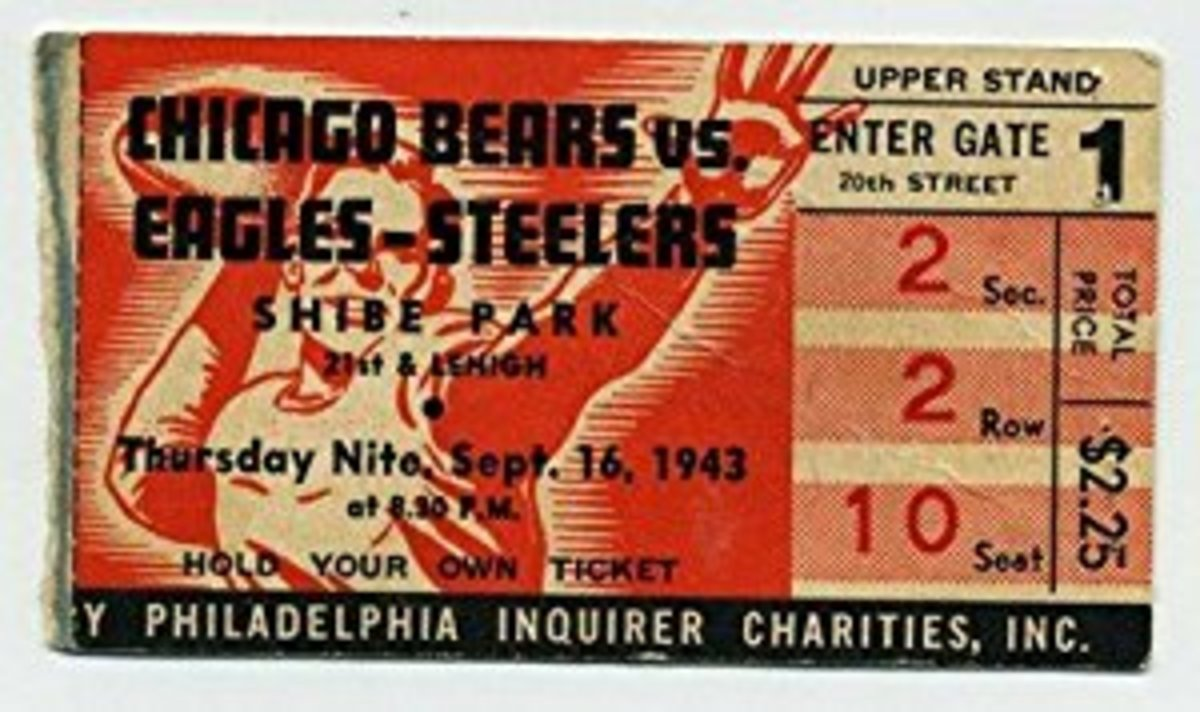 Steagles Game Ticket