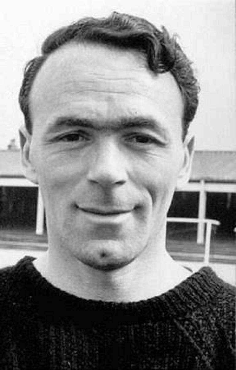 Ted Burgin was a non-playing member of England's squad for the 1954 World Cup.