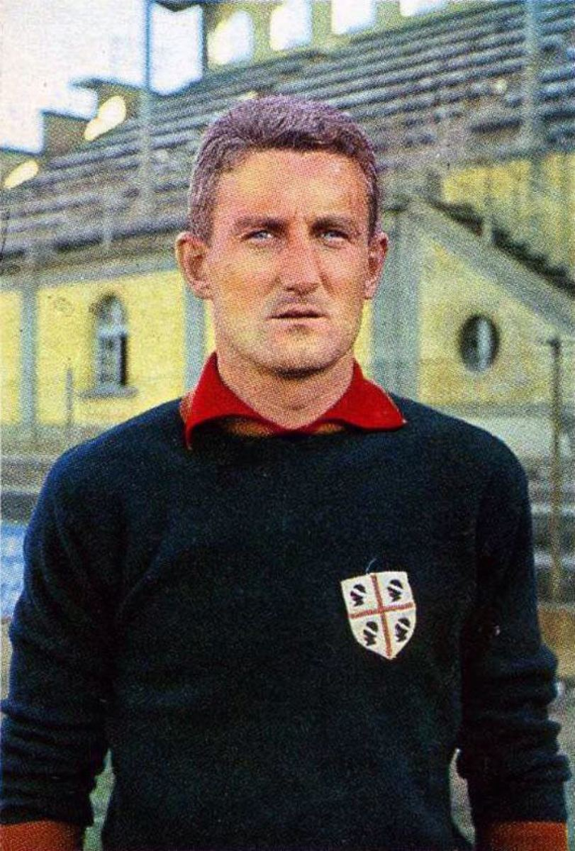 Angelo Martino Colombo won the Serie A champion with Juventus in the 1966/67 season.