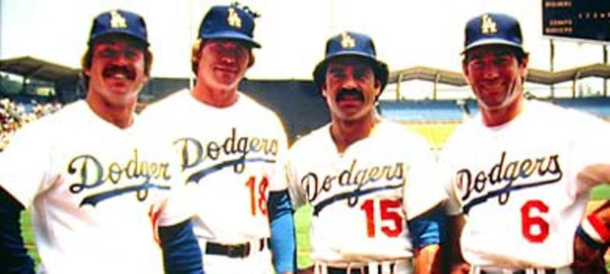 Ron Cey, Bill Russell, Davey Lopes and Steve Garvey