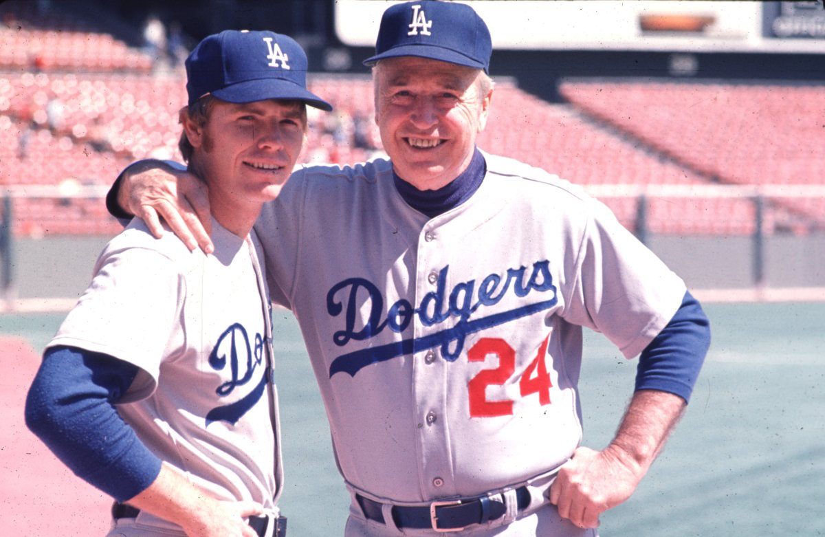 Bill Russell and Alston. Russell would later manage the Dodgers in the 1990s.