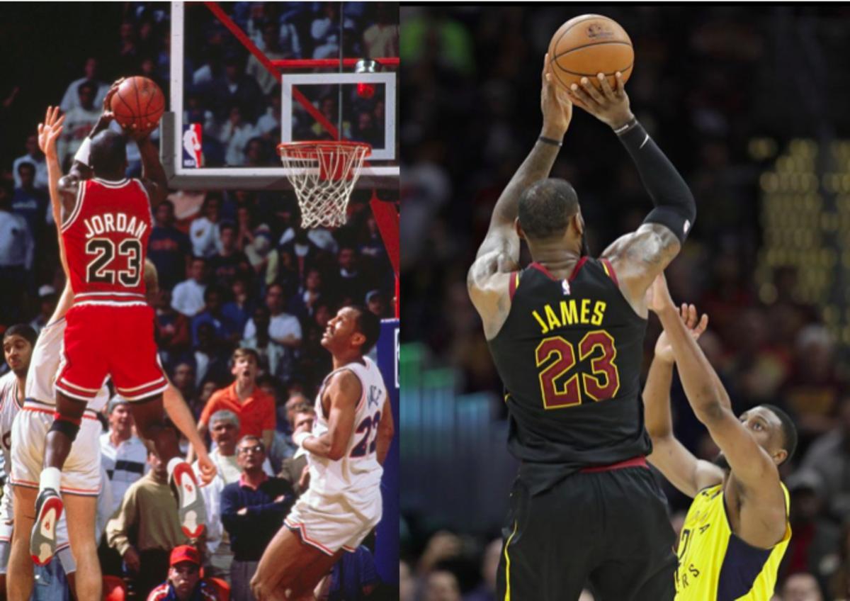Jordan LeBron Game Winners