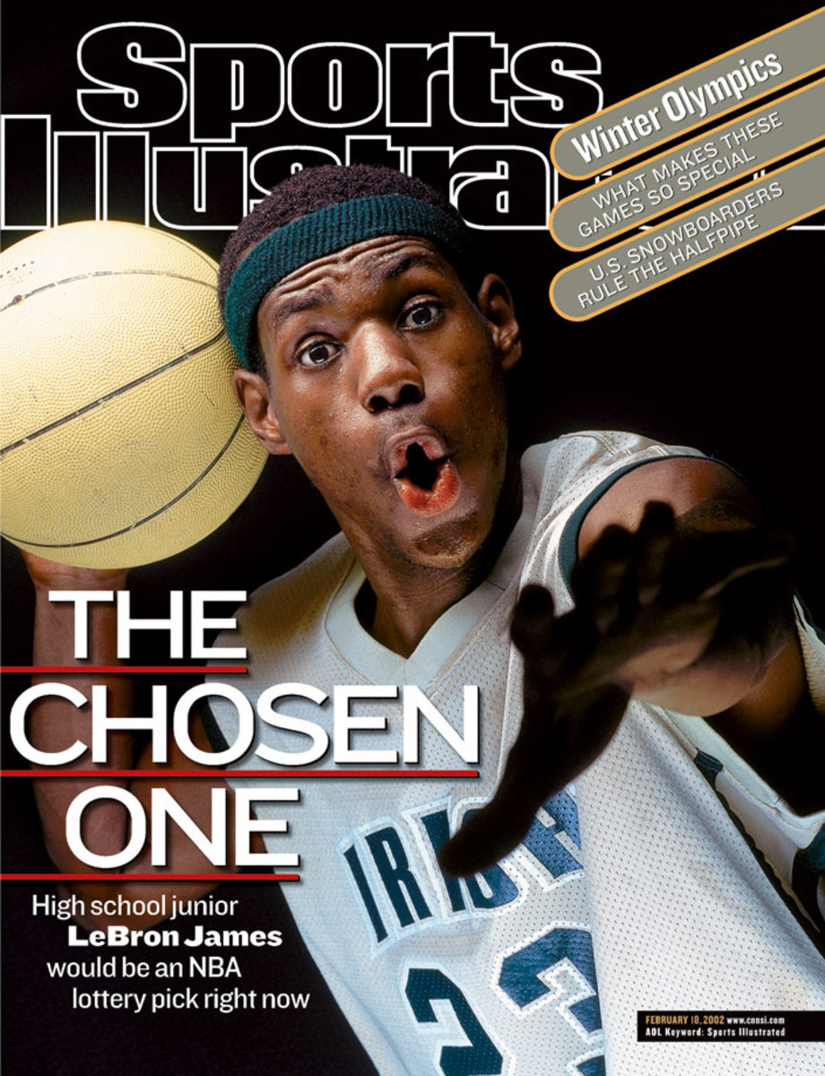 LeBron Sports Illustrated Cover