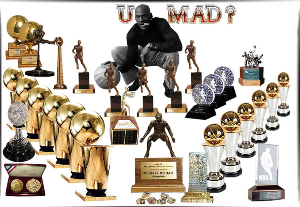 Michael Jordan Trophies