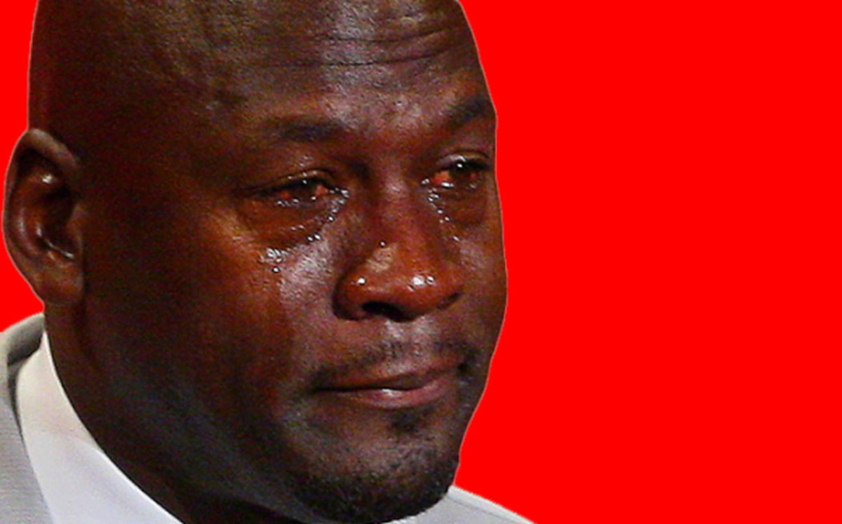 Crying Jordan Meme