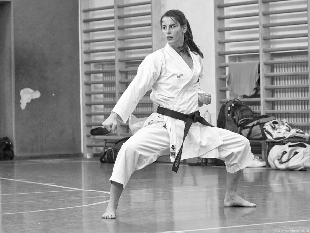 Martial arts inspires confidence.