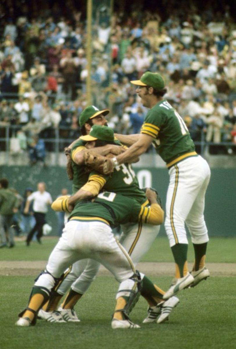 1973 Game 7 Celebration